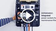 小型污水处理系统PP控制柜
