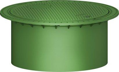 迷你式检查井筒,带井盖,可承受人体重量 [371010]