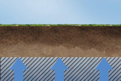 Low installation depth