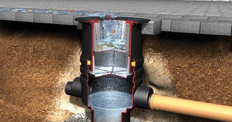 Infiltration filter shaft, suitable for vehicle loading