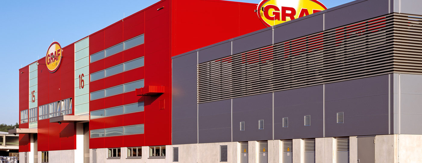 建于2007年初的物料存储,生产和装配大厅,容量达20,000平方米,足以使用最新技术生产最优质的产品。