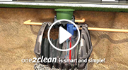污水处理系统,One2clean——智能、简便 塑胶材料——显然优于混凝土材料!