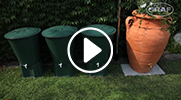 GRAF Antique amphora陶土复古高耳罐